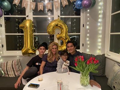 2021.03.26 Ryder 13th Birthday