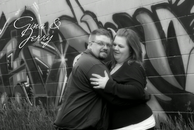 Location Engagement Session for Gina & Jerry.  We did two locations in this two hour session.