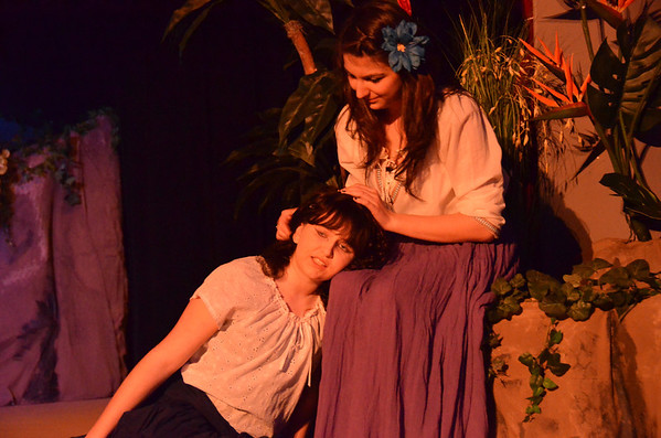 Once On This Island - 1/24/12 Tech Rehearsal