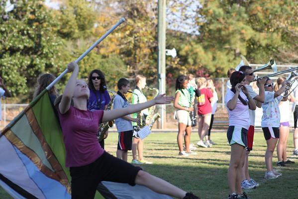 2011-11-09: Last Practice-Cooper Field