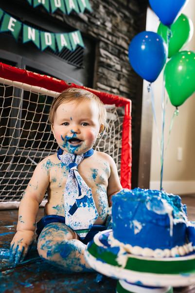 Brendan's Cake Smash