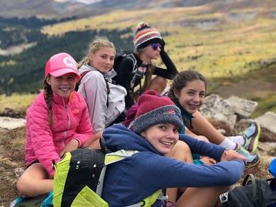 Team Shrine Peak: Middle School Outdoor Ed Fall 2018