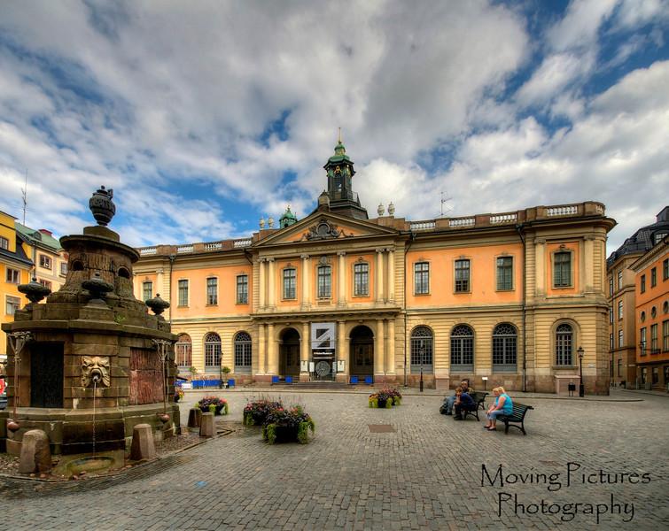 Stockholm - Nobel Museum on Gamla Stan