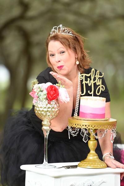Angela's 50th Cake Smash