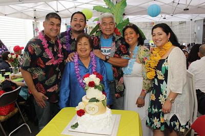 Tita Rose and Tito Mark 50th Wedding Anniversary