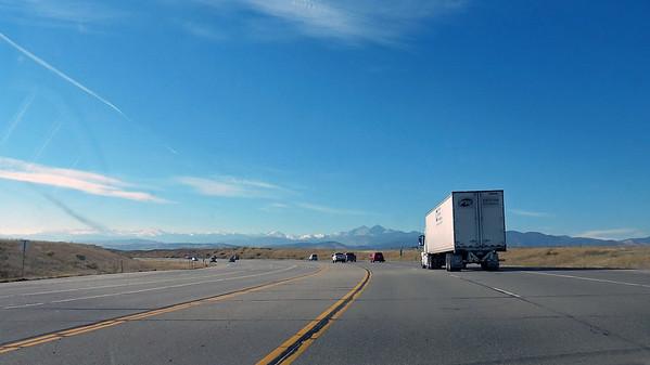 November 23:  Estes Park, CO, and Rocky Mountain National Park .  .  .