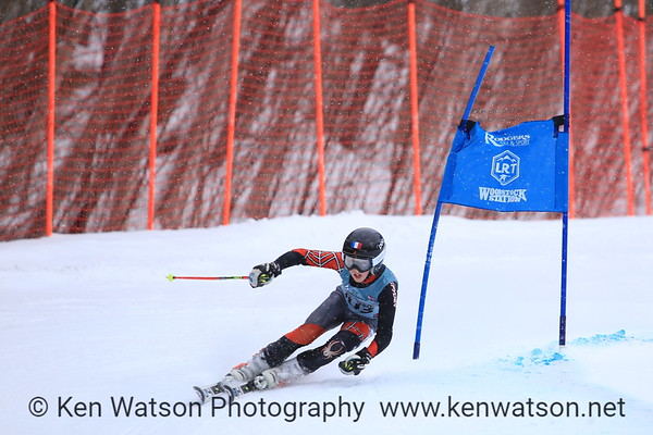 2018-03-11 NHARA U12 Championship-Boys GS 2nd Run