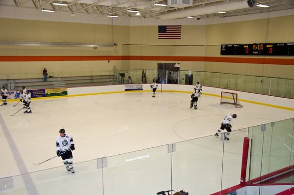 USA vs Minnesota Warriors Hockey Game