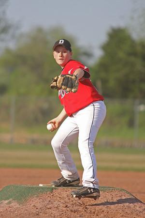Dawg Baseball--Ringgold, April 25