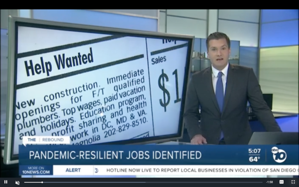 Community Colleges identify pandemic-resilient jobs