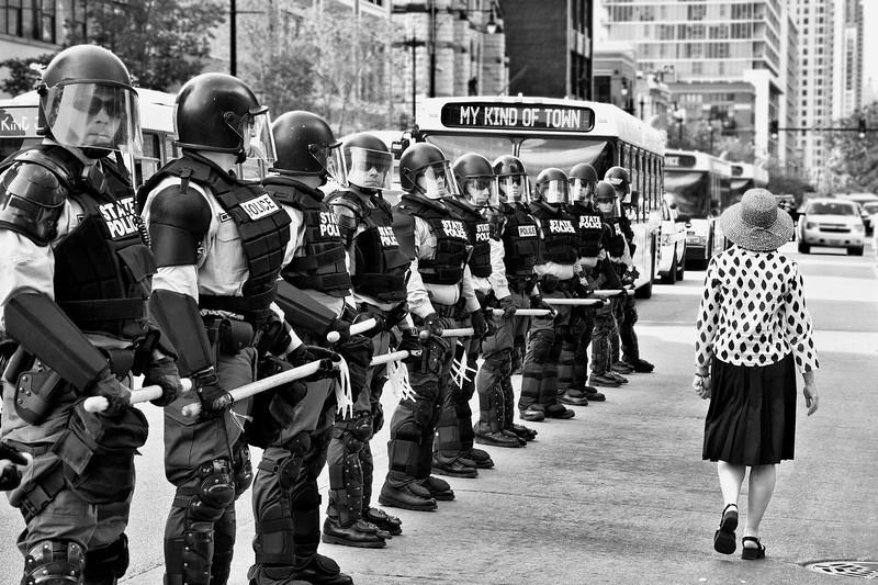 Chicago Black and White