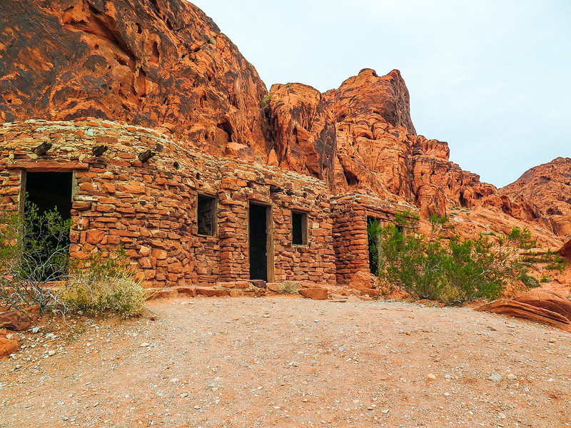 CCC Cabins, Valley of Fire State Park