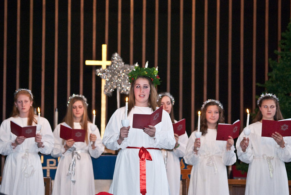 Salem Lucia Pagent - Sunday