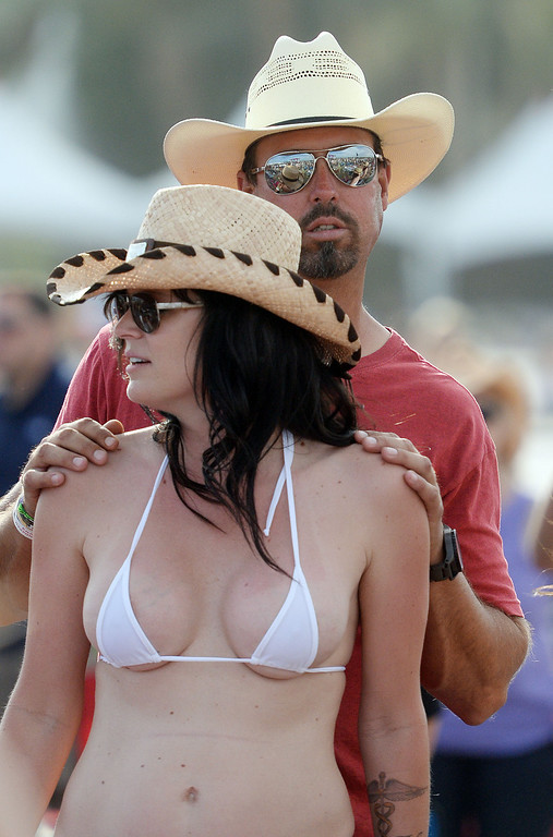 . Fans enjoy the opening day of Stagecoach 2014 Friday April 25, 2014 at the Empire Polo Club in Indio. (Will Lester/Inland Valley Daily Bulletin)