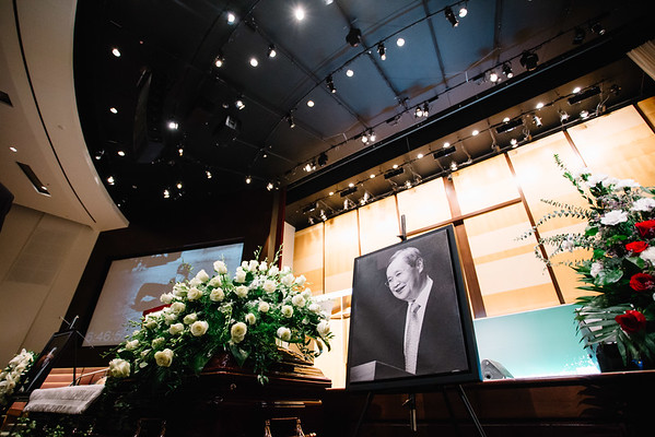 The Memorial Service for the Late Rev. WonSang Lee