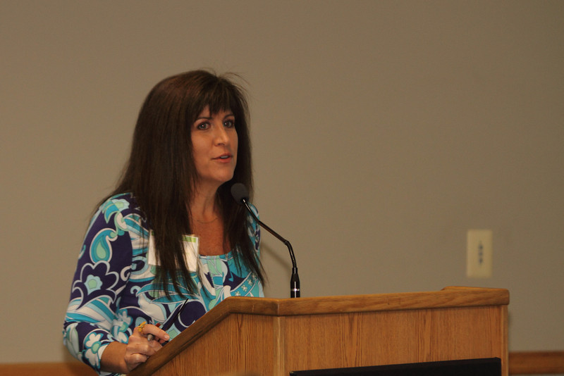 Catherine Tappouni was the Host for the morning Sustainability Session.