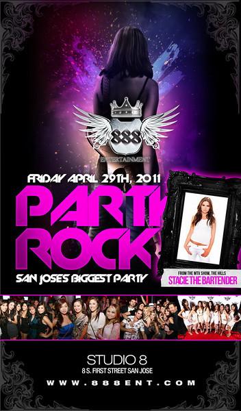 4/29 [Party Rock@Studio 8]