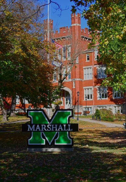 Marshall Logo-Hal Greer Blvd.-Nov. 2018-Rick Haye