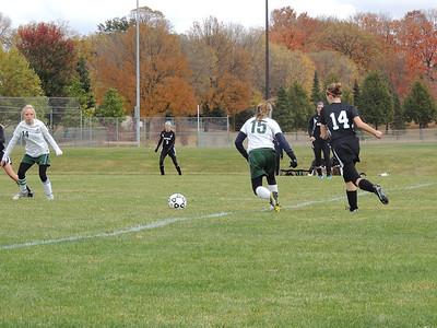 Warrior Girls Soccer vs PACT Charter 10-6-12