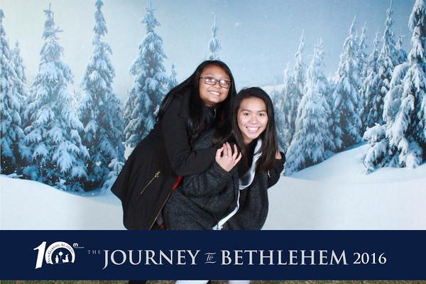 Journey to Bethlehem - Sunday night