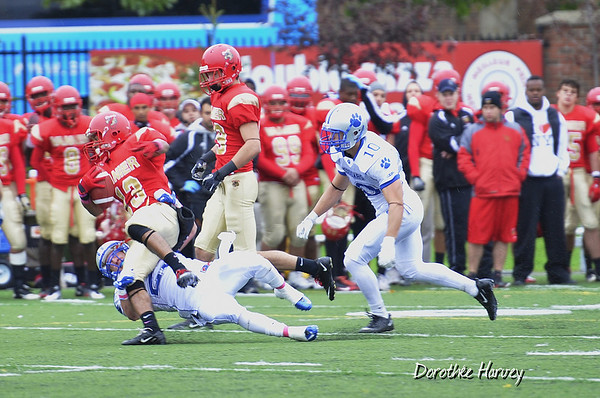 Football Cougars , Lenoxville 2011