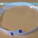 SKU: V3-CAR/S, Short Carriage Data Cable for V-Smart V3-440 and V3-740 Vinyl Cutter