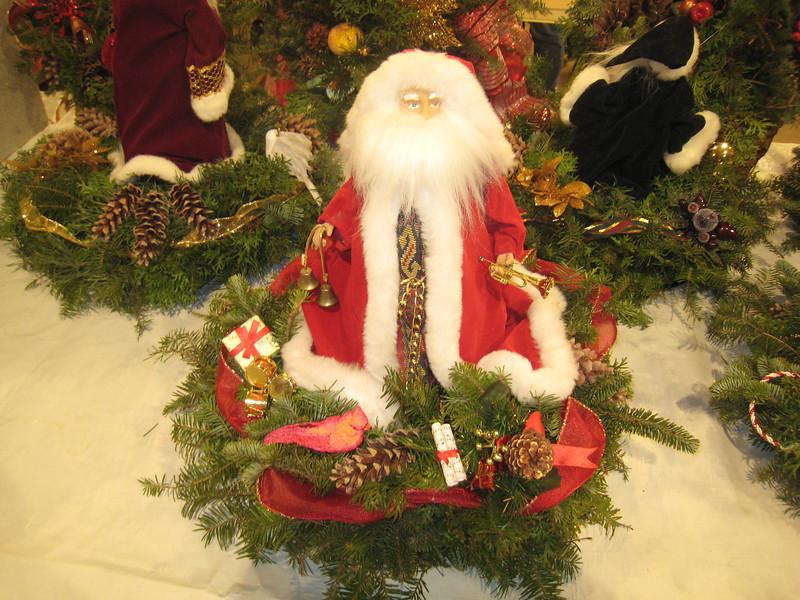 A Santa center piece