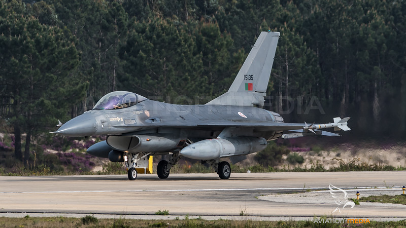 Portuguese Air Force / Lockheed F-16A-15 / 15135