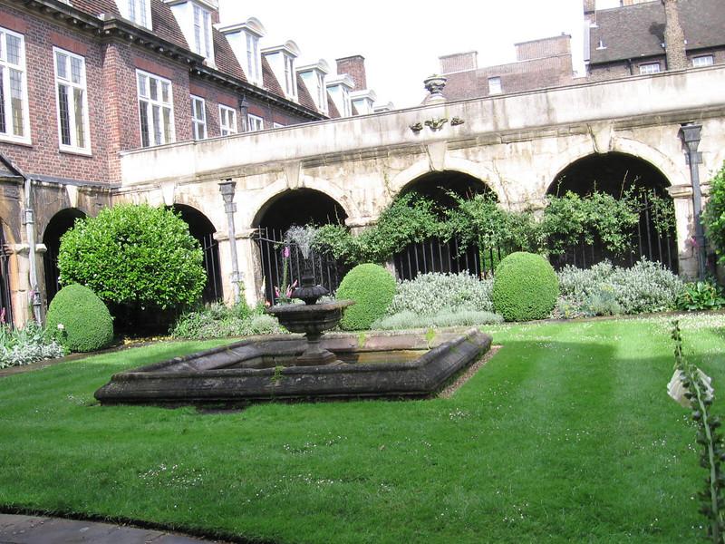 The Cloister Garden Westminster Abbey