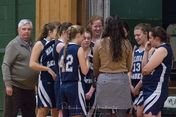 2017-02-16 Hillsdale Academy Girl's JV and Varsity Basketball vs. North Adams