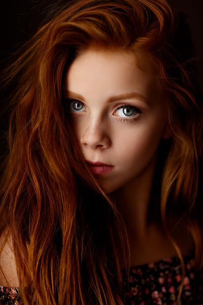 Creative studio portrait session | Top Sacramento photographer Sergey Bidun Photography
