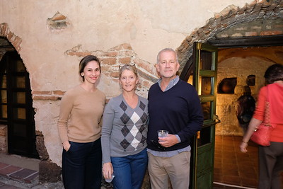 Friends Enjoy Pomegranate Party at Old Mill