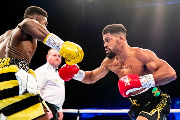 Lerrone Richards vs Lennox Clarke British Super-Middleweight Title - 30th Nov 2019