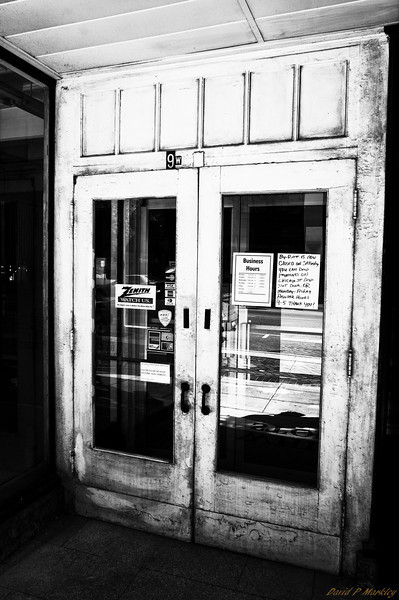 Old Store Entrance