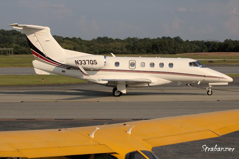 Embraer  EMB-505 Phenom 300  c/n 50500202  N337QS Netjets Arriving from Montgomery Regional (KMGM)  KPDK, DeKalb, GA,   09/22/2017 This work is licensed under a Creative Commons Attribution- NonCommercial 4.0 International License