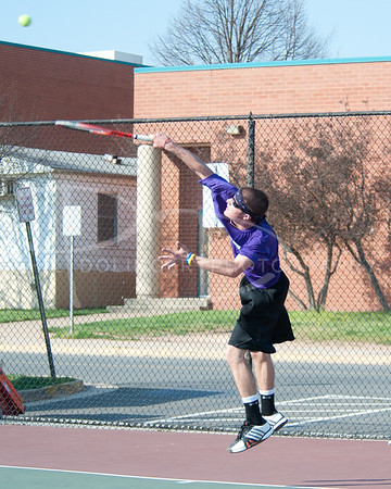 Chantilly Chargers Boys Tennis v Oakton Cougars, Thursday, March 22, 2012