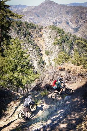 2012-11-03 - Mount Wilson, Rim trail, Gabrielino, Zion