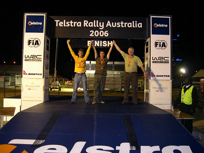 Rally Australia afterparty 2006
