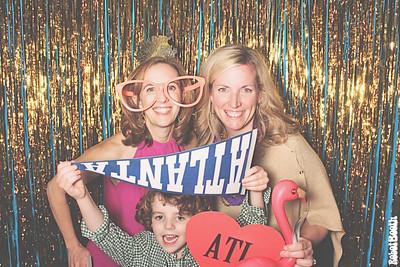 12-30-18 Atlanta Ansley Golf Club Photo Booth - Family New Year's Eve Party - Robot Booth
