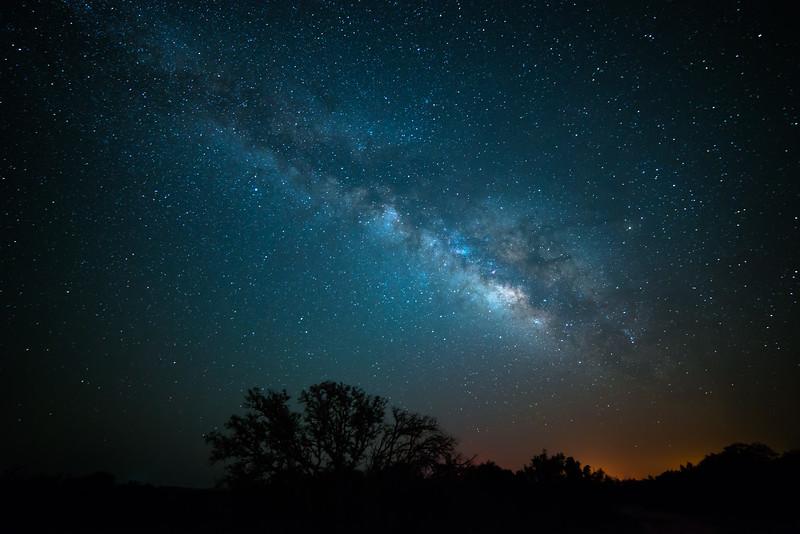 Long Exposure Galaxy