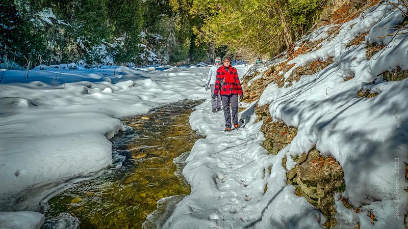 Winter Creeking!