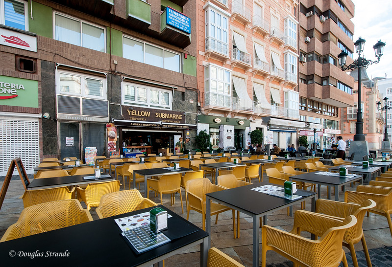 Cartagena, Spain - your table is ready!