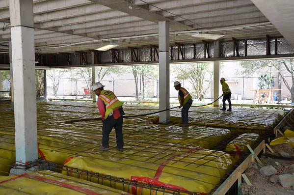 March 19 2019 - Rebar prior to concrete pour