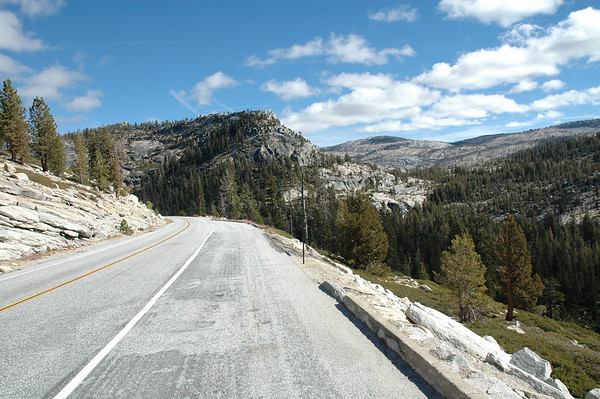 Tioga Pass Road - Yosemite National Park