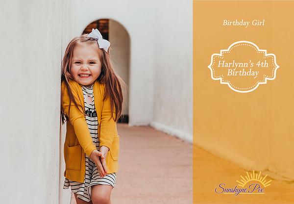 Harlynn's 4th Birthday