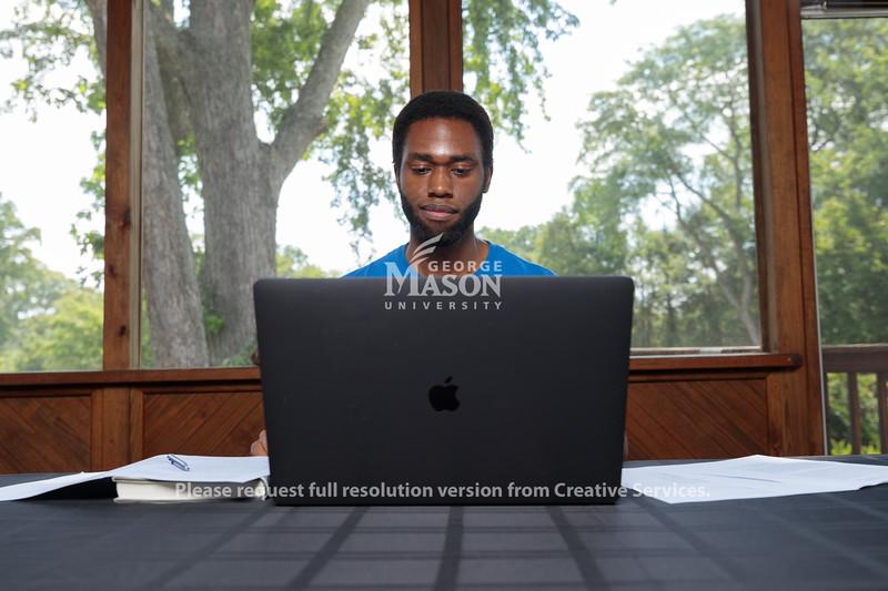COVID Promo, Photo By Ian Shiff/Creative Services/George Mason University