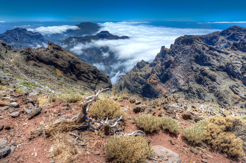 Rock of Muchachos in La Palma, Spain