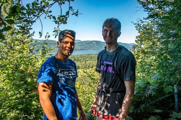 2017 07-30 Hike to Latourell Falls