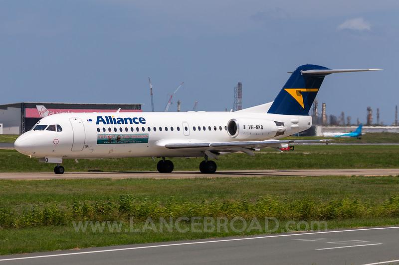 Alliance Fokker 70 - VH-NKQ - BNE