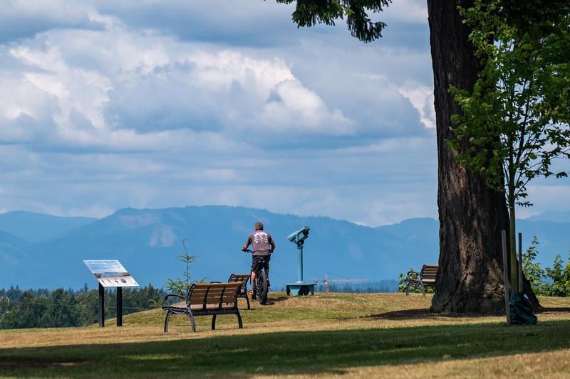 Hibulb Lookout at Legion Park in Everett, WA